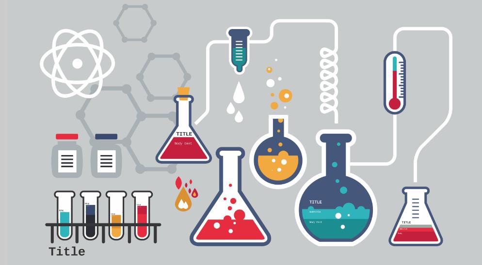 free prezi template chemistry lab