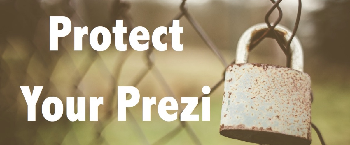 restore prezi from a backup to protect your work