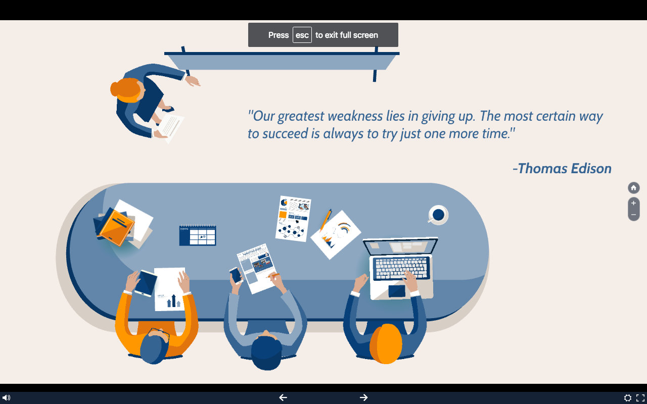 Business Briefing Prezi Template
