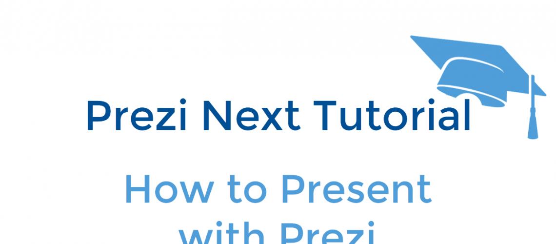 How to present a prezi thumbnail